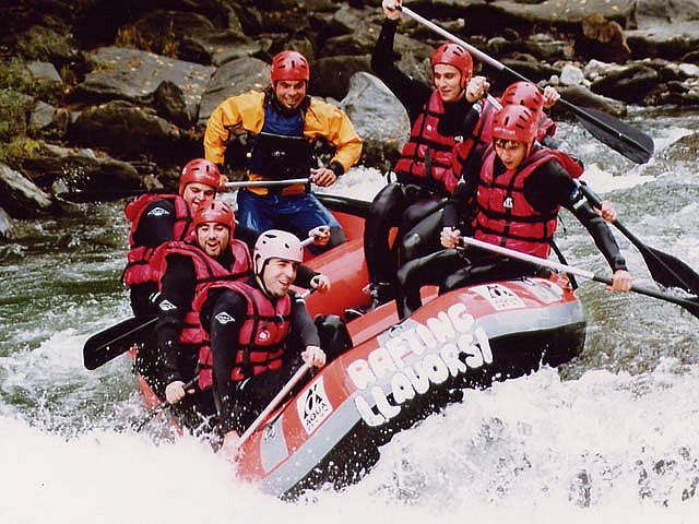 Spain Catalonia Lleida Lérida Pynrenees river rafting David Domingo Flickr