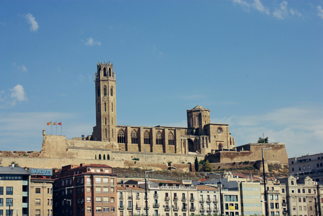 Spain Catalonia Lleida Lérida Seu Vella Deea shutterstock_226775488