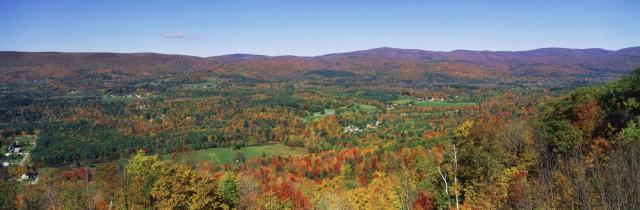 USA United States New England Massachusetts Berkshires fall foliage shutterstock_137989925