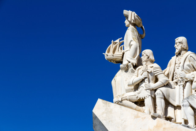 Portugal Lisbon discoverers monument Paolo Querci shutterstock_244332325
