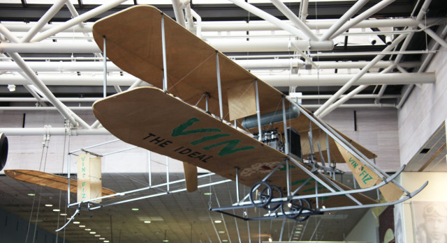 Smithsonian Air and Space Museum Washington DC Wright Brothers flyer Tim Evanson Flickr-Wikipedia