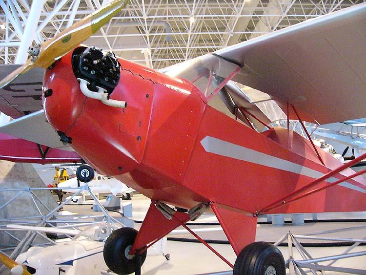 aviation museum Ottawa Canada Taylor E-2 Cub C-GCGE Wikipedia Ahunt