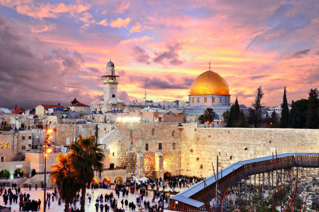 senior boomer travel Israel Jerusalem Sean Pavone shutterstock_148478216