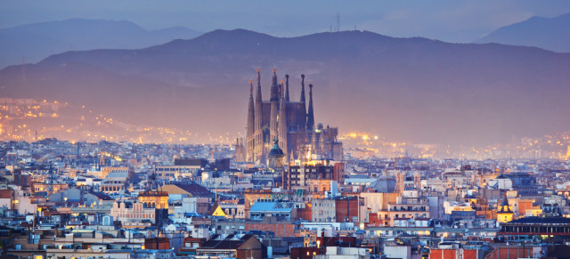 multinational senior travel - Barcelona Catalonia Spain Kanuman shutterstock_214016380