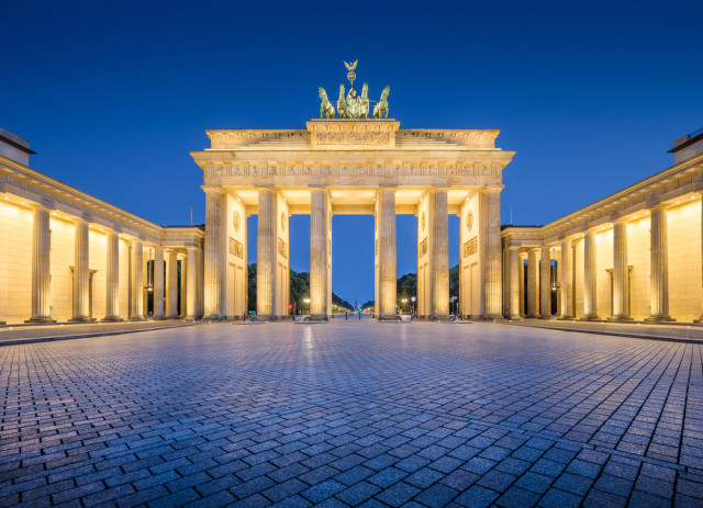 multinational senior travel Berlin Brandenburg Gate Canadastock shutterstock_302414885