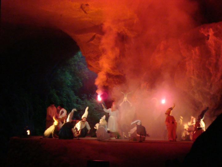 Spain Navarre Zugarramurdi witches cave aquelarres