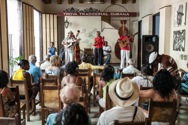 Cuba Santiago Casa de la Trova music dubes sonego shutterstock_289960403