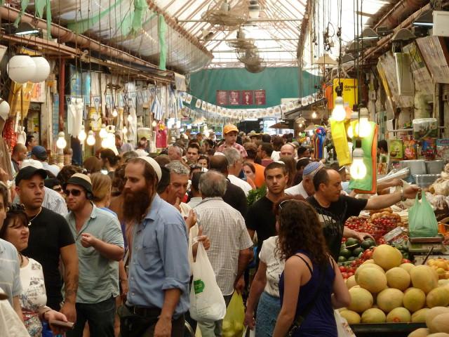 Israel Jerusalem Mahane Yehuda Market deror_avi Wikipedia