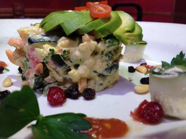 USA vegetarian dining restaurants food New York City Caravan of Dreams