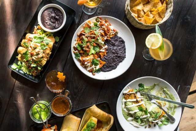 USA vegetarian restaurants dining Los Angeles West Hollywood California Gracias Madre food