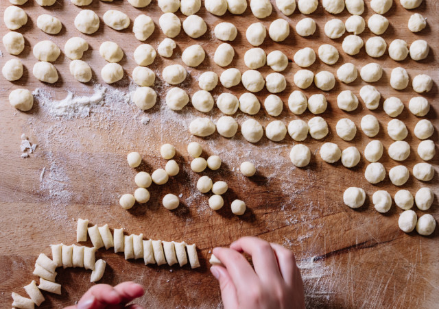 cooking schools classes Florence Tuscany pasta Lorenzo Patoia shutterstock_287228768