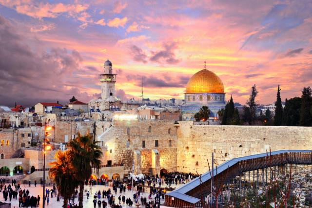 Israel Jerusalem Sean Pavone shutterstock_148478216