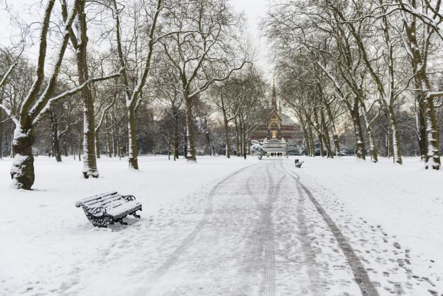 United Kingdom Britain England London Hyde Park winter Nando Machado shutterstock_126202148
