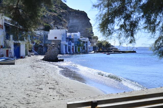 Greece Milos Klima beach houses Kurt Winner