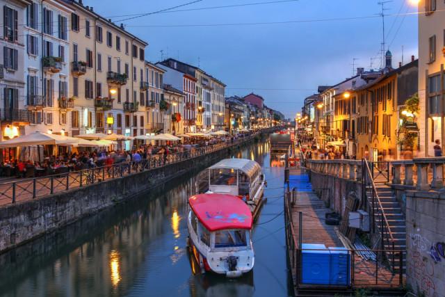Italy Milan Navigli Mihai-Bogdan Lazar shutterstock_201883006
