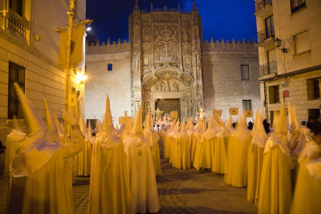 Spain Castile and León Valladolid Holy Week Semana Santa Jose Ignacio Soto shutterstock_48586276