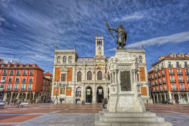 Spain Castile and León Valladolid Plaza Mayor marcp_dmoz Flickr