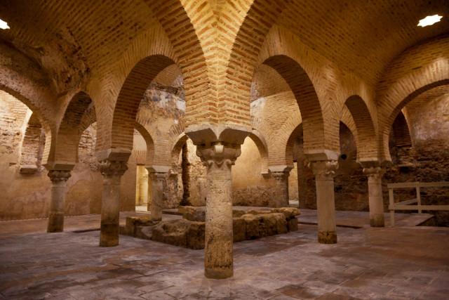 Spain Andalusia Jaén Arab baths Jose Ignacio Soto shutterstock_276715196