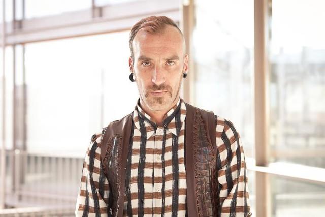 Spain fashion designer Roberto Etxeberría