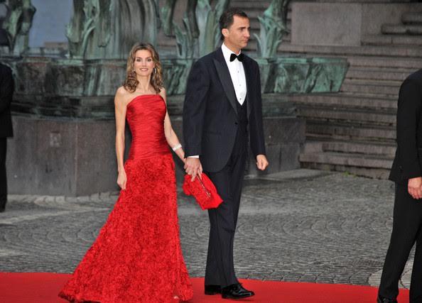 Spain fashion designer Felipe Varela Queen Letizia
