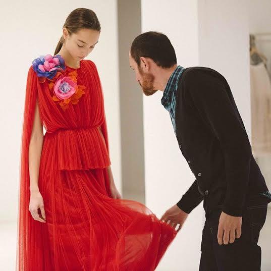 Spain fashion designer Josep Font Delpozo