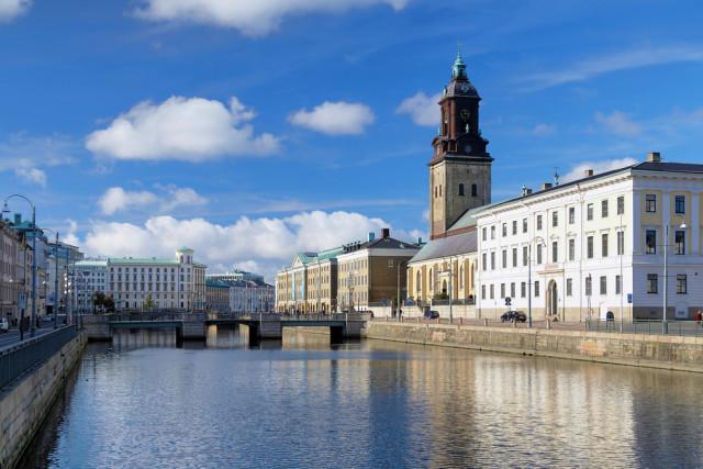 Sweden Gothenburg main canal Mikhail Markovskiy shutterstock_91536728
