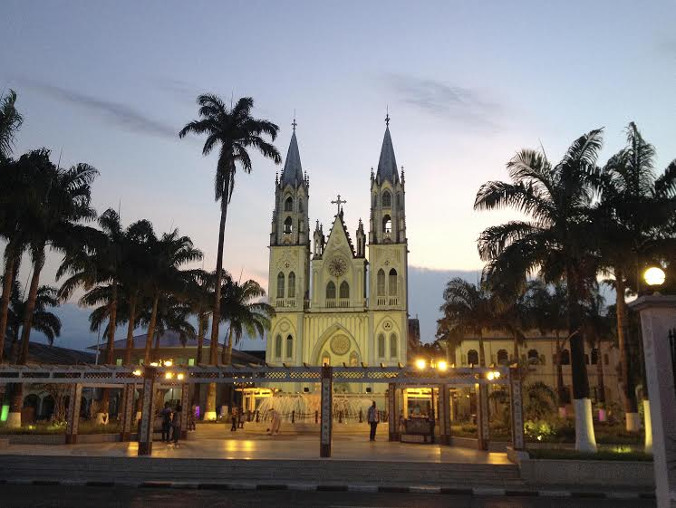 West Africa Equatorial Guinea Malabo cathedral Ruta 47