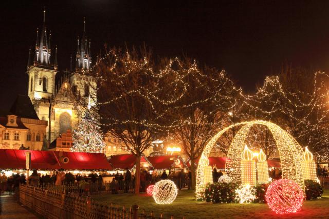 Czech Republic Prague Christmas Kajano shutterstock_123181171