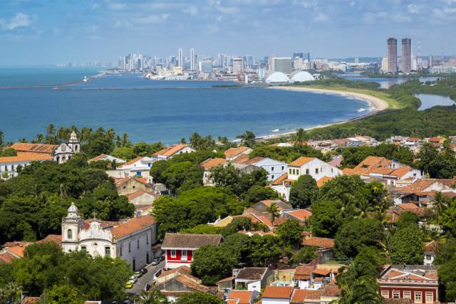 Brazil Pernambuco Recife Olinda Marcio Jose Bastos Silva shutterstock_272988170