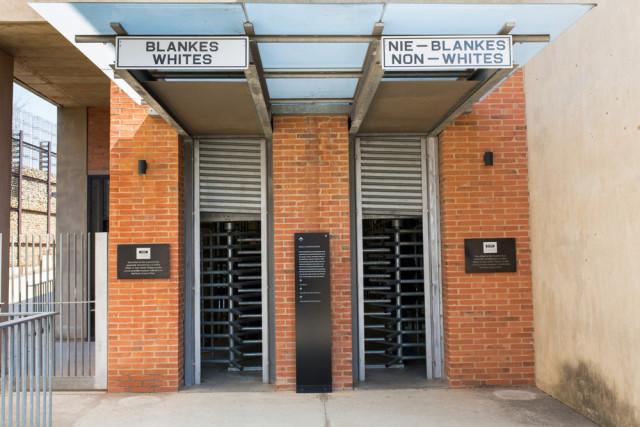 South Africa Johannesburg Apartheid Museum Gil.K shutterstock_219550003