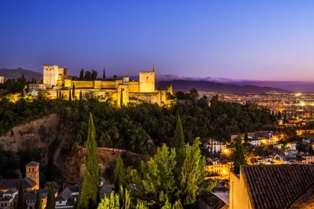 Spain Islamic Moorish Granada Alhambra Marques shutterstock_191686253