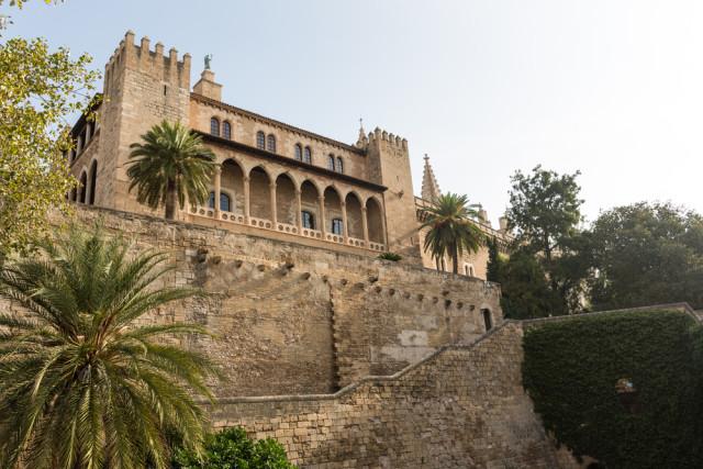 Spain Islamic Moorish Majorca Palma de Mallorca Almudaina Palace Andrey Starostin shutterstock_150454958