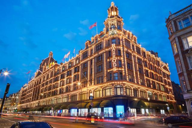 Europe shopping UK Great Britain London Harrods department store andersphoto shutterstock_343203950