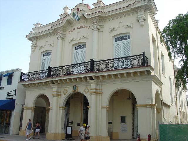 Florida Key West Cuba culture San Carlos Institute