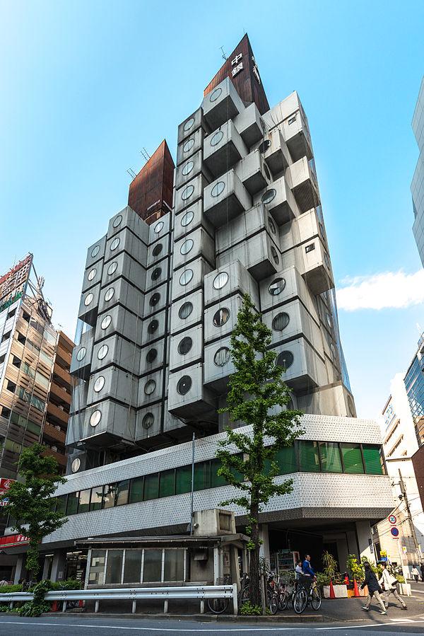 Asia Japan Tokyo Nakagin Capsule Hotel Jordy Meow Wikipedia