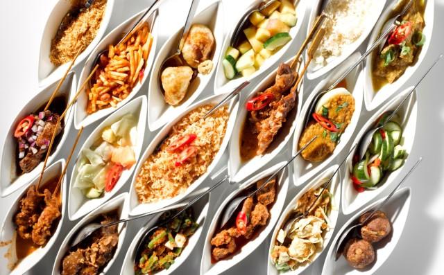 Netherlands Amsterdam restaurants Blauw Indonesian rijstaffel
