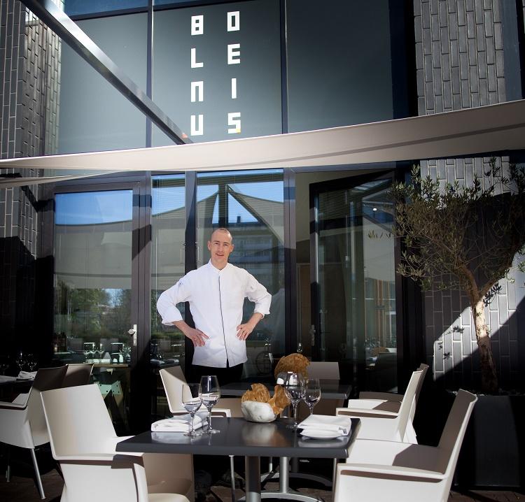 Netherlands Amsterdam restaurants Bolenius with chef Luc Kosters