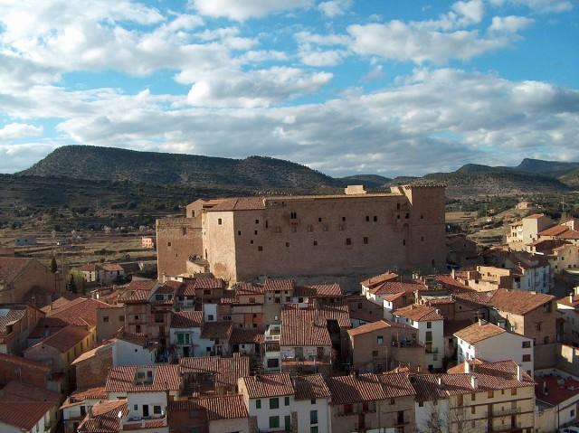 Spain Aragon Teruel Mora de Rubielos Millars