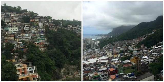 Brazil Rio de Janeiro favelas Vidigal Rocinha