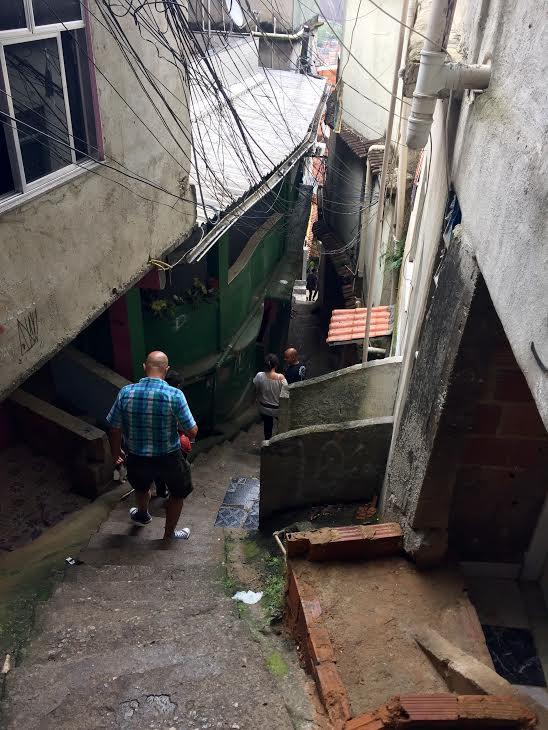 L2F Mar 16 pic Brazil Rio Rocinha favela stairs