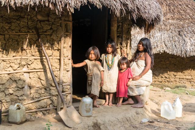 Colombia Santa Marta Tayrona Kogi people Jess Kraft shutterstock_181810424