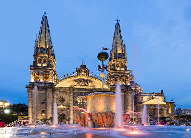 Mexico Guadalajara cathedral posztos shutterstock_360059129