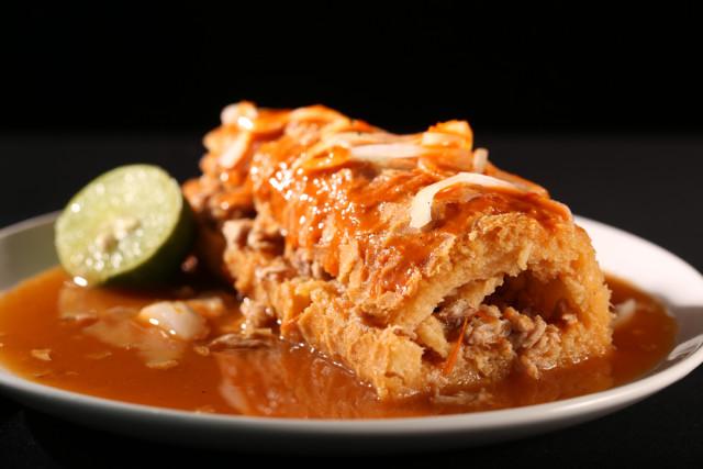 Mexico Guadalajara food torta ahogada stacyarturogi shutterstock_263758499