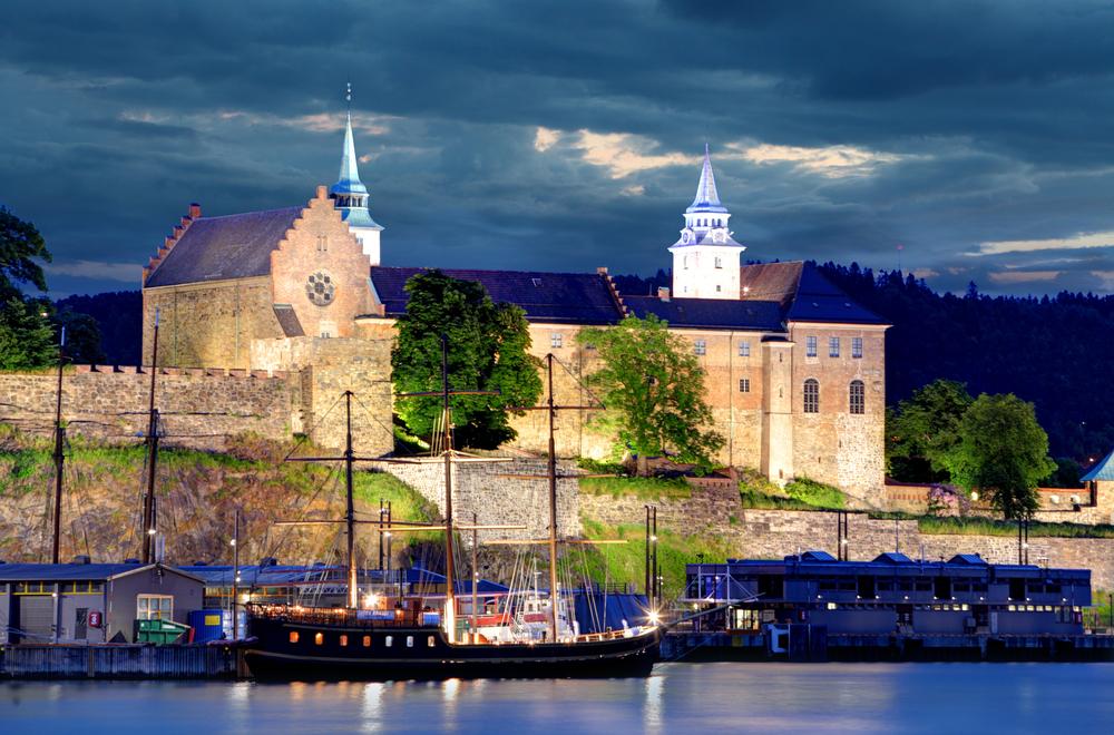 Norway Oslo Akershus Fortress TTstudio shutterstock_284675741