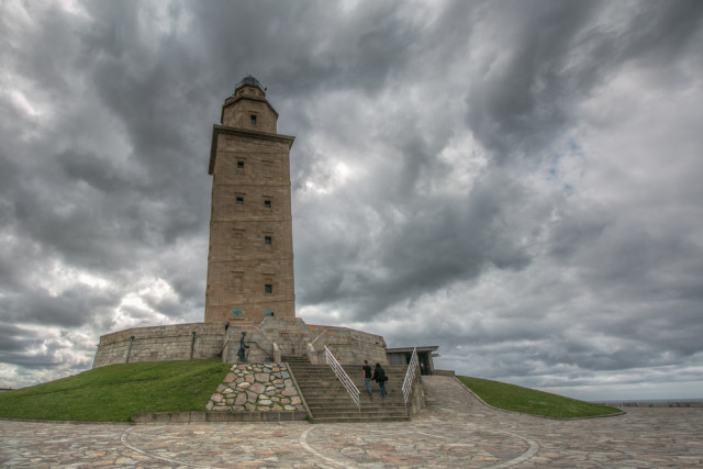Spain Galicia A Coruña Tower of Hercules Carmen Cristino shutterstock_300801362