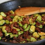 Habas-Jamon-Broas-Beans-Serrano-Ham-Recipe-Granada-Andalusia-Spain