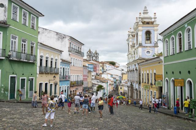 Brazil Salvador Pelourinho lazyllama shutterstock_288757967