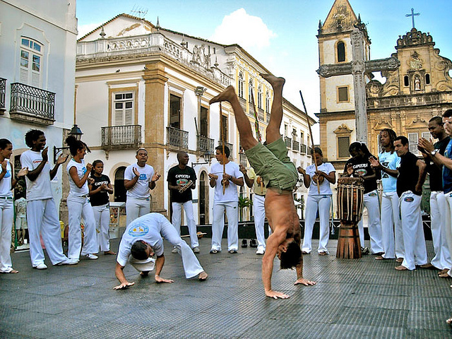 Brazil Salvador capoeira tvbrasil