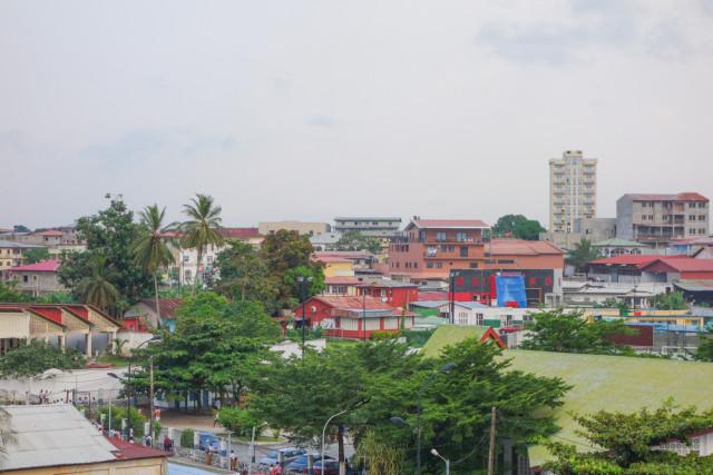 West Africa Equatorial Guinea Bata skyline alarico shutterstock_248907067