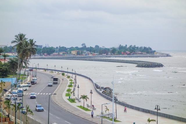 Equatorial Guinea Bata waterfront alarico shutterstock_258361529